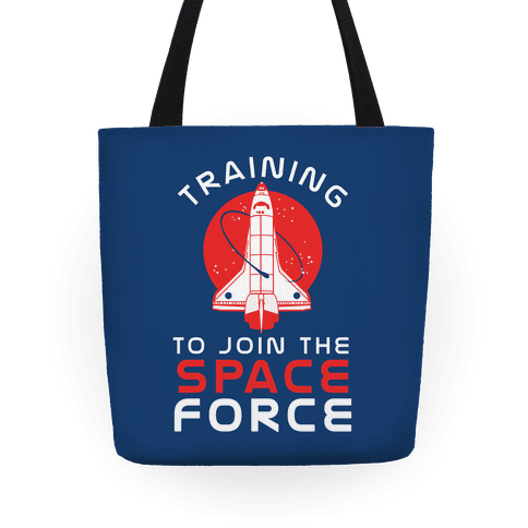 Training to Join the Space Force Tote