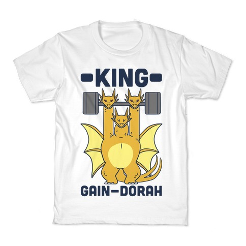 King Gain-dorah - King Ghidorah Kids T-Shirt
