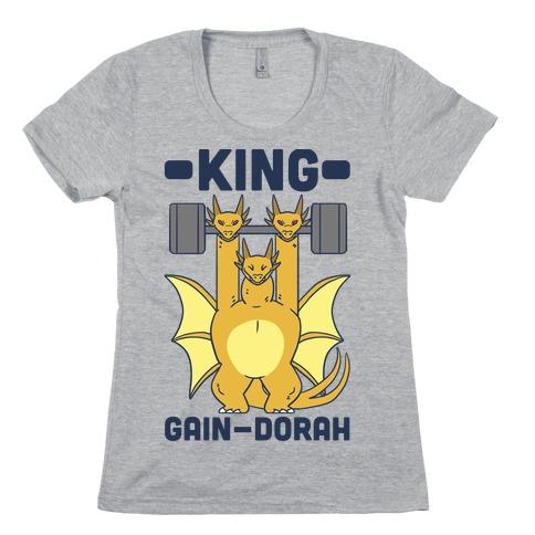 King Gain-dorah - King Ghidorah Womens T-Shirt