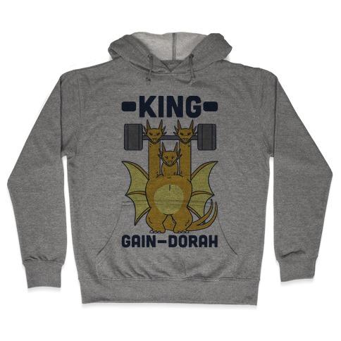 King Gain-dorah - King Ghidorah Hooded Sweatshirt