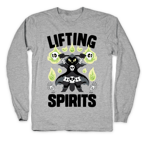 Lifting Spirits Long Sleeve T-Shirt