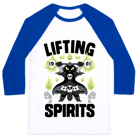 Lifting Spirits Baseball Tee