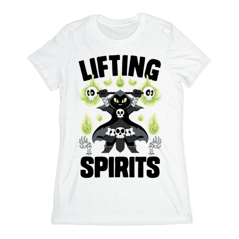 Lifting Spirits Womens T-Shirt