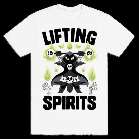 Lifting Spirits Mens/Unisex T-Shirt