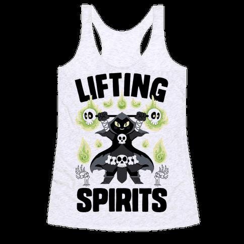 Lifting Spirits Racerback Tank Top