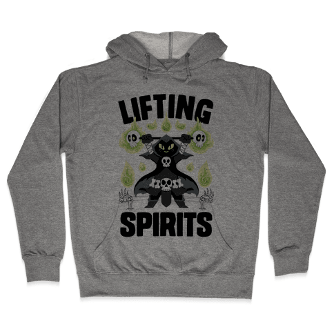 Lifting Spirits Hooded Sweatshirt