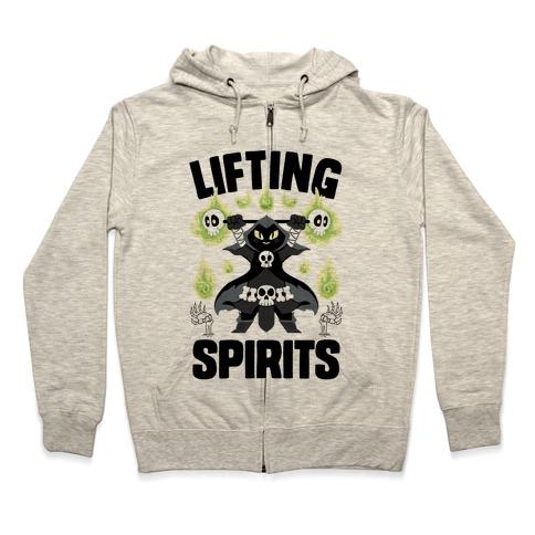 Lifting Spirits Zip Hoodie