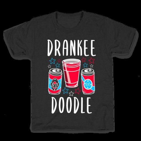 Drankee Doodle Kids T-Shirt