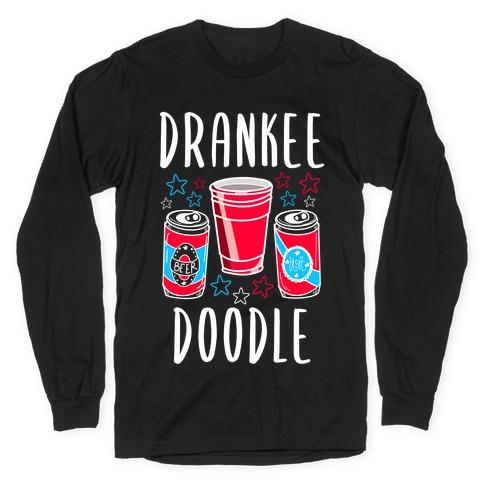 Drankee Doodle Long Sleeve T-Shirt