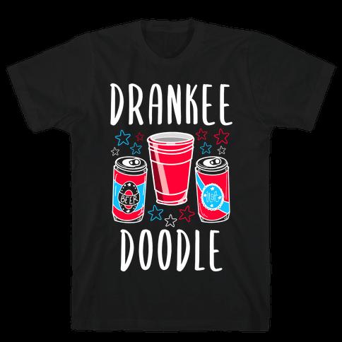 Drankee Doodle Mens/Unisex T-Shirt