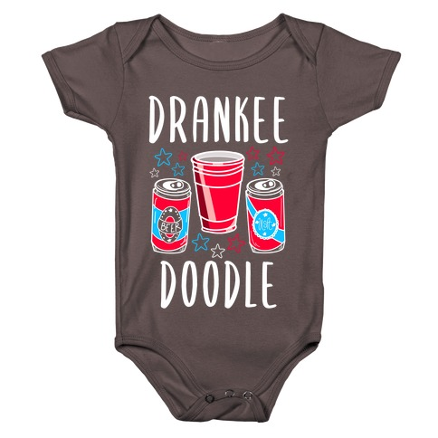 Drankee Doodle Baby One-Piece