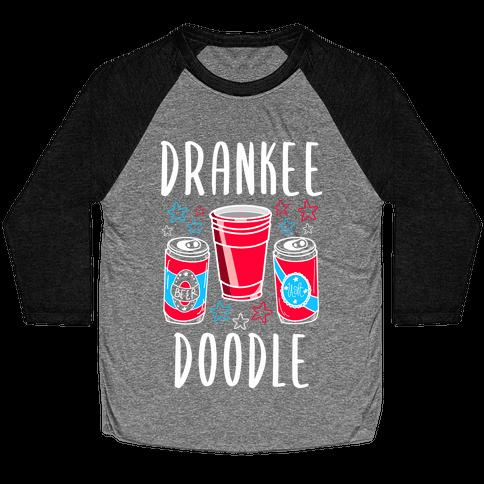 Drankee Doodle Baseball Tee