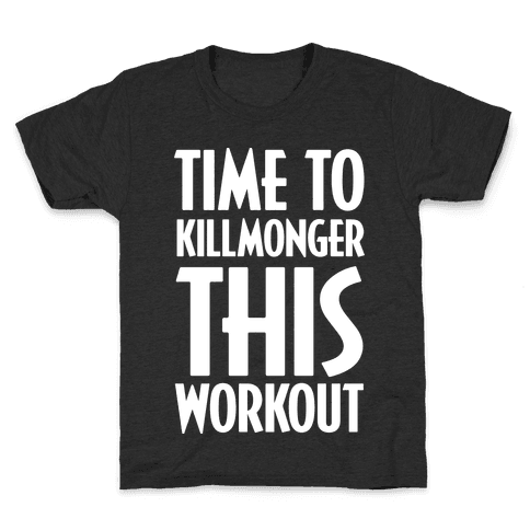 Time To Killmonger This Workout Kids T-Shirt