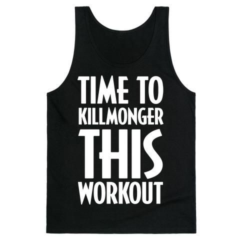 Time To Killmonger This Workout Tank Top