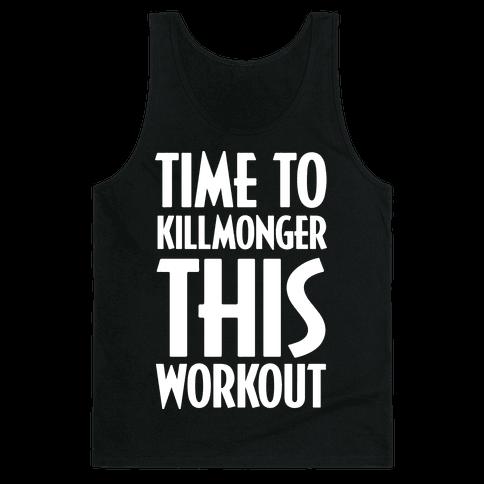 Time To Killmonger This Workout Tank