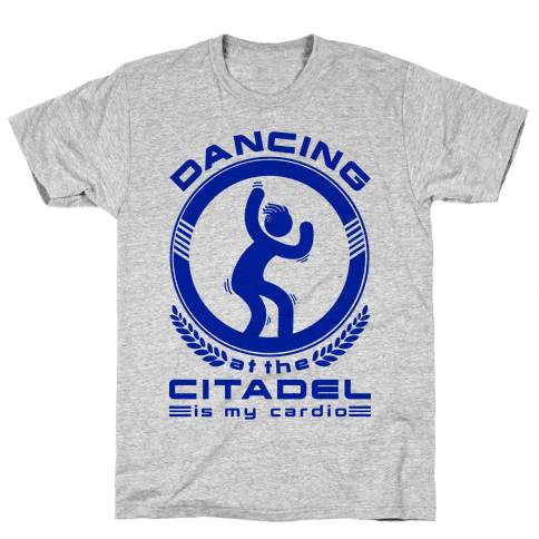 Dancing at the Citadel is my Cardio Mens T-Shirt