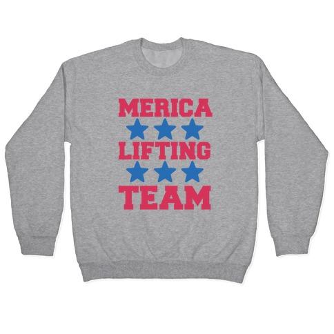 Merica Lifting Team Pullover