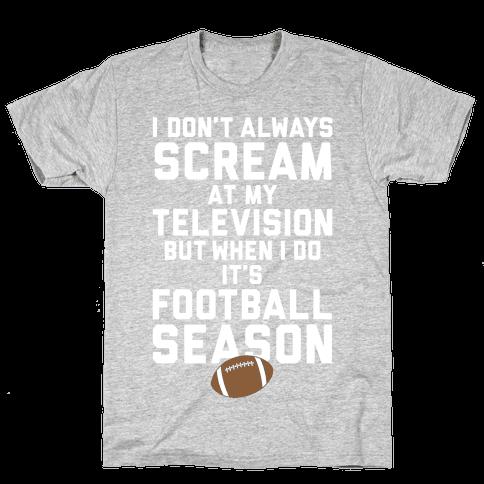 Football Season Mens T-Shirt