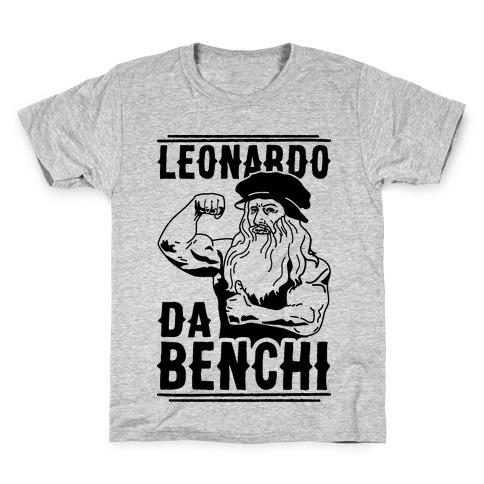 Leonardo Da Benchi Kids T-Shirt