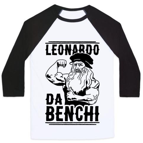 Leonardo Da Benchi Baseball Tee