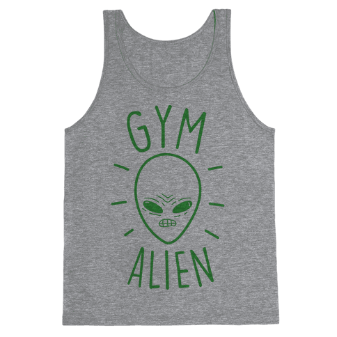 Gym Alien Tank Top