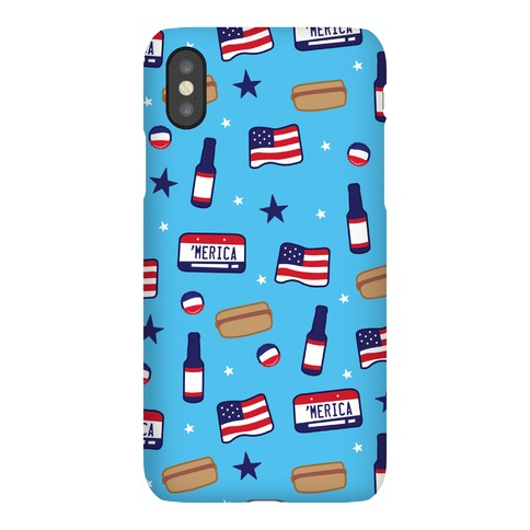 Americana Pattern Phone Case
