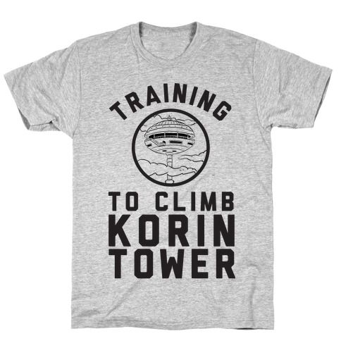 Training To Climb Korin Tower T-Shirt