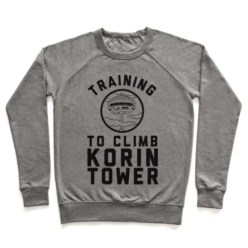 Training To Climb Korin Tower Pullover