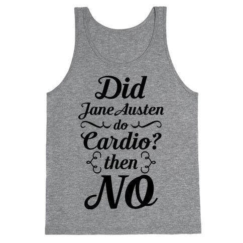 Jane Austen Cardio Tank Top
