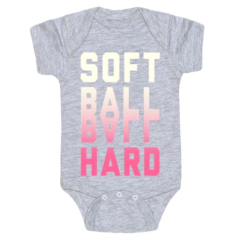 Soft Ball Ball Hard Baby Onesy