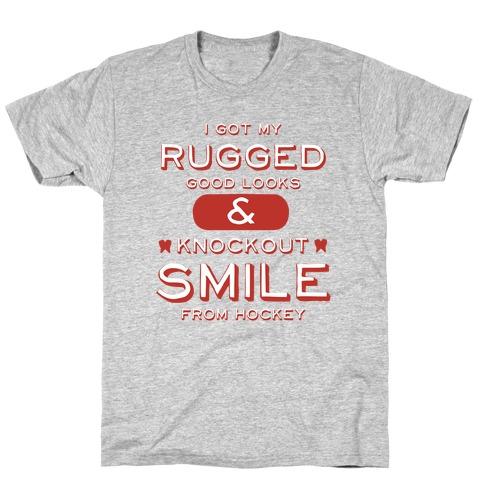 Knockout Hockey Smile T-Shirt