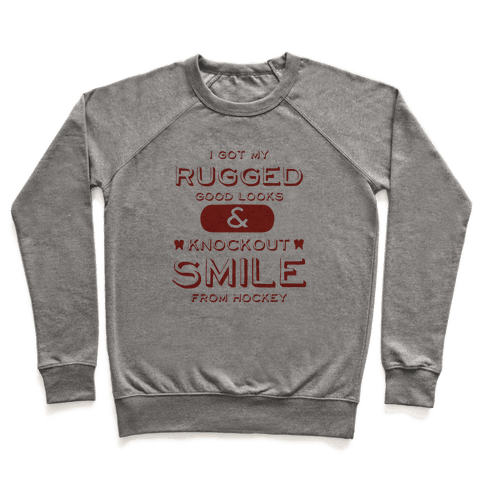 Knockout Hockey Smile Pullover