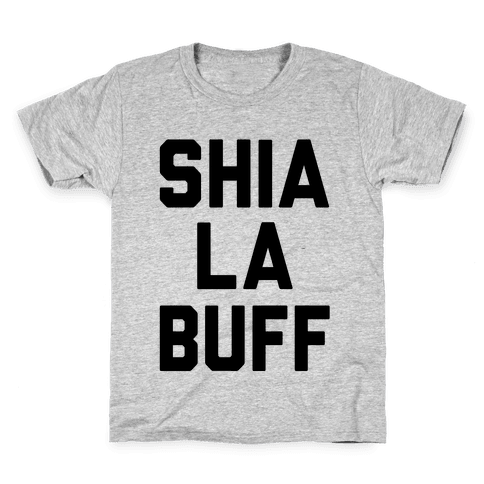 Shia La Buff Kids T-Shirt