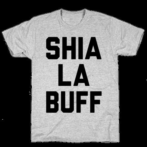 Shia La Buff Mens T-Shirt