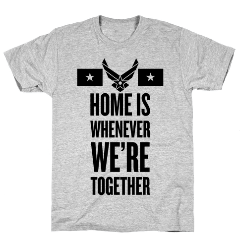 Air Force Home (Air Force Tank) Mens T-Shirt