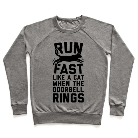 Run Fast Like A Cat Pullover