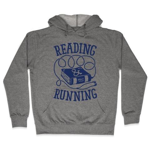 Reading & Running Hooded Sweatshirt