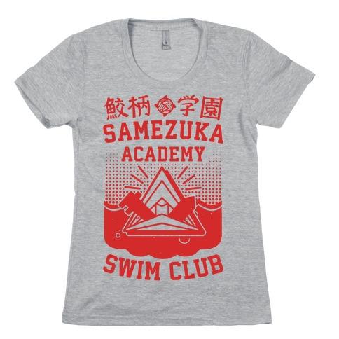 Samezuka Academy Swim Club Womens T-Shirt