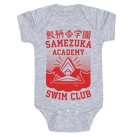 Samezuka Academy Swim Club Baby Onesy
