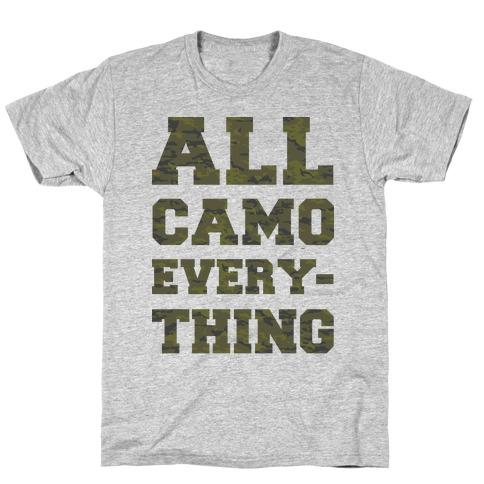 All Camo Everything Mens T-Shirt