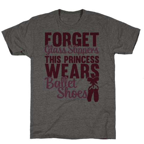 Forget Glass Slippers This Princess Wears Ballet Shoes