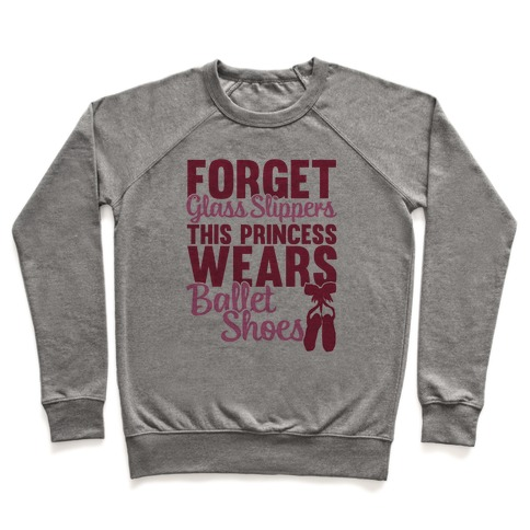 Forget Glass Slippers This Princess Wears Ballet Shoes Pullover