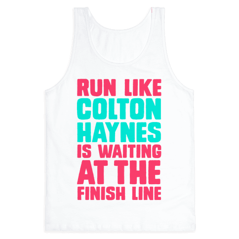 Run Like Colton Haynes is Waiting