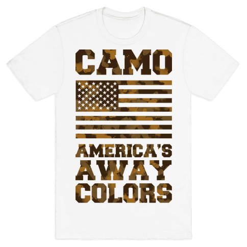 Camo America's Away Colors