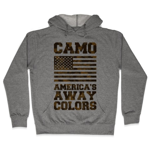 Camo America's Away Colors Hooded Sweatshirt