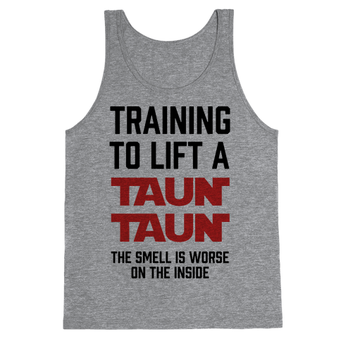 Training To Lift A Tauntaun - The Smell is Worse on the Inside