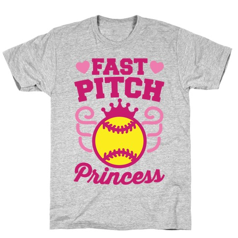 Fast Pitch Princess T-Shirt
