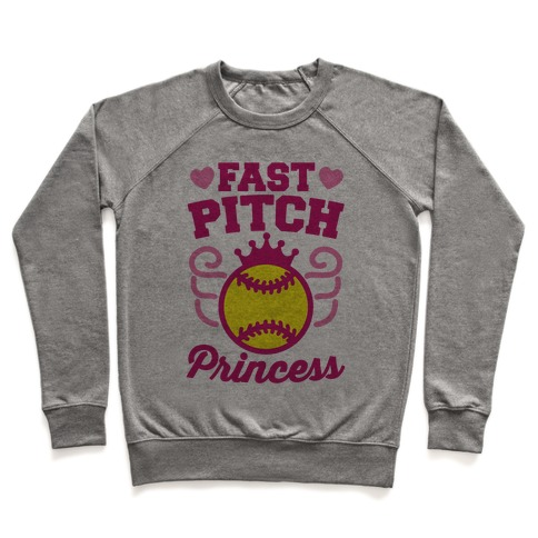 Fast Pitch Princess Pullover