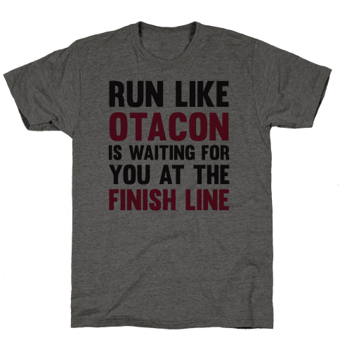 Run Like Otacon Is Waiting For You At The Finish Line