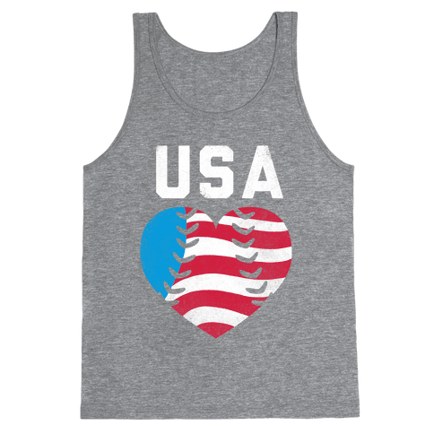 USA Baseball Love Tank Top